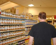 fila do supermercado