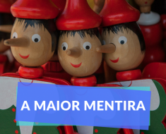 A mentira perfeita para destruir seus sonhos - Mentira estampada na cara - 1 de abril| Felipe Baqui