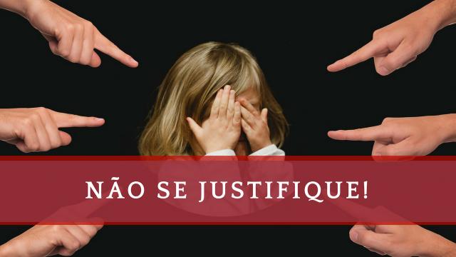COMO FAZER UMA JUSTIFICATIVA | NÃO SE JUSTIFIQUE | RESPONSABILIDADE | CULPA | EXPLICAÇÃO | DESCULPAS-640